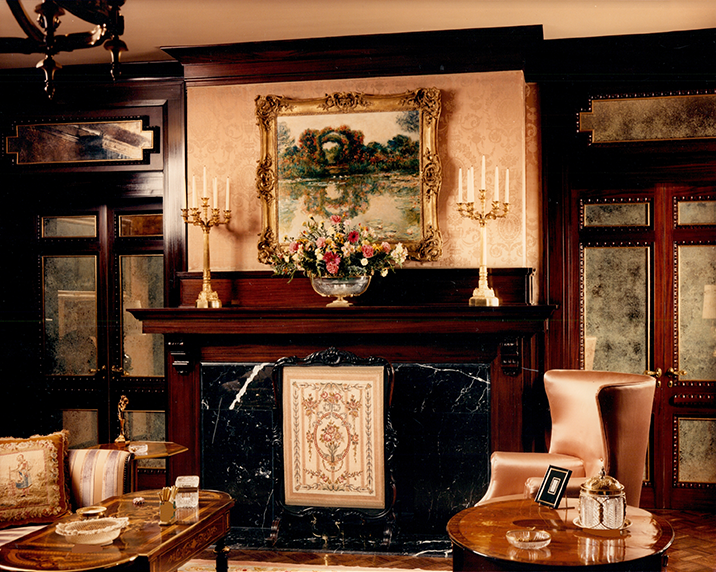 Harrington House Fireplace